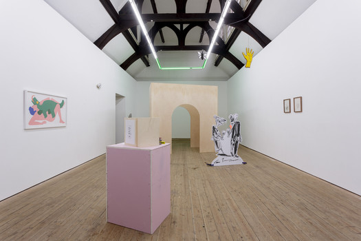 Installation view of Monty at Copperfield, London. 02/02/19 - 02/03/19