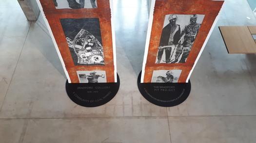Bradford Pit Memorial - Exhibition