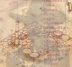 '21 Countries' Plate 21 2004 (Detail)