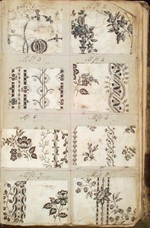 'Plate Patterns', around 1805 - Philip A Sykas