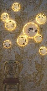 solas gold wall installation