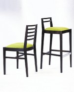 """Coby"" high stools - Berry Chairs"