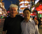 With Prof. Wei of East Normal University, Shanghai