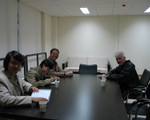 Meeting at CAFA, Beijing