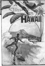 Travel poster of Hawaii