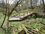 Longacre Wood - foot bridge (Culture and Creativity study project)