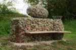 Haverholm Bench (Hub/Art NK, Lincolnshire)