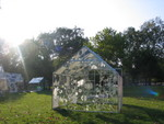 Etched Glass Greenhouse by Rachel Kelly
