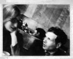 Eduardo Paolozzi and Claire Walsh in 1967