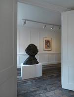 Eduardo Paolozzi sculpture in situ at Raven Row gallery