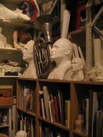 The Paolozzi studio at the Scottish National Gallery of Modern Art, Edinburgh