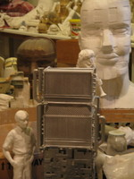 The Paolozzi studio at the Scottish National Gallery of Modern Art, Edinburgh