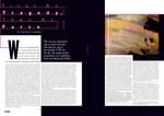 Slavoj Zizek: Editorial spread for Flux Magazine 2009 ( Images Mack :  typography John Walsh MMU )
