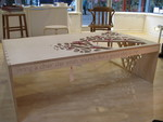 Pavement table