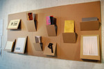 A with a Fold, Cardboard Folly: Issue 1, curated by Emily Speed, The Bluecoat, 2010