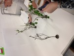 Ikebana Workshop with Educator Project Unit X Students 2017